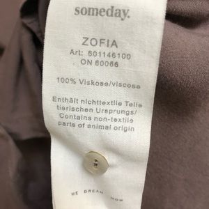 Someday Tops - Someday button down tunic classic shirt